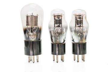 Vacuum electronic preamplifier tubes