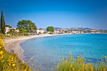 Paralia Fourkas beach, Halkidiki,  Greece.
