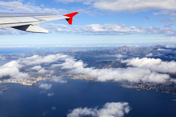 Über Mallorca