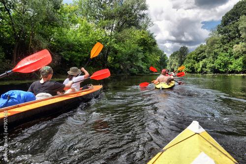 river, Sula, 2014 Ukraine, june14 ; river rafting kayaking edito - 67907674