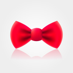 Red bow-tie icon