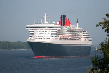 Queen Mary 2 Einlauf
