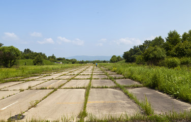 The old runway