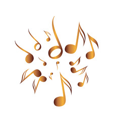 Classical Music Vector Pack icon symbol golden