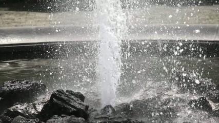 Wasser, Springbrunnen