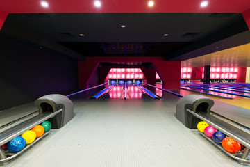 Modern luxury bowling