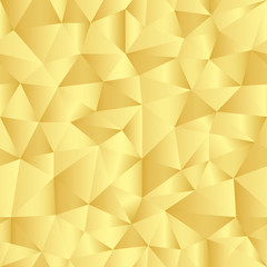 Seamless pattern with golden triangles