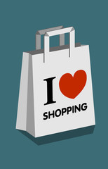I Love Shopping - Bag