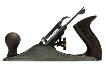 Woodworking hand tools - iron plane