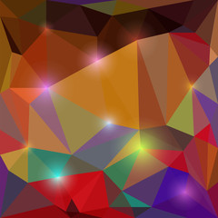 bright colored abstract geometric background