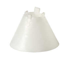 Wound healing cone, elizabethan collar (with clipping path)