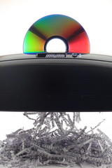 CD shredding binary Data