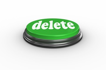 Delete on digitally generated green push button