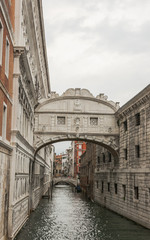 Venedig, Altstadt, Kanal, historisch, Brücke, Insel, Italien