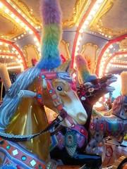 Carousel's horses