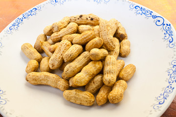 Peanut Texture and Detail