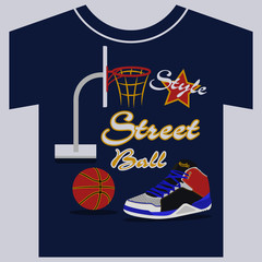treetball, sneakers graphic design