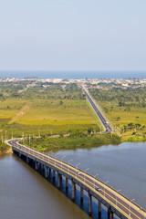 Acess from Iguape to Ilha Comprida - Prefeito Laércio Ribeiro b