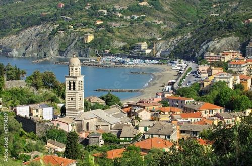 canvas print picture Levanto 01