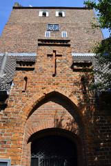 Kircheneingang Heiligenhafen