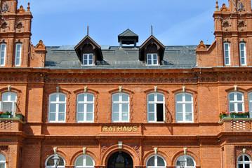 Rathaus Fassade Heiligenhafen