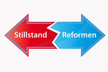 Stilstand - Reformen