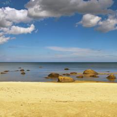 Stone sea.