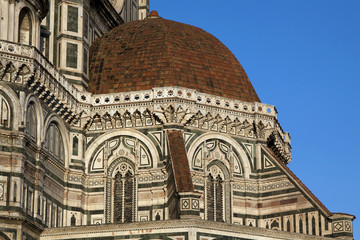 Details of the beautiful Dome - Florence