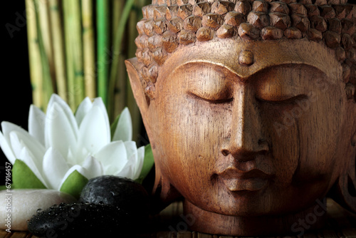 canvas print picture budda