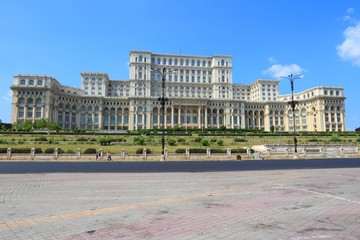 Bucharest, Romania - Parliament Building