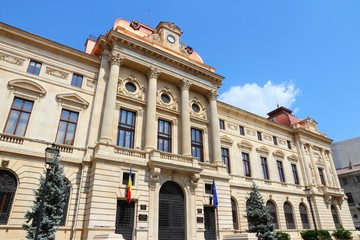 Bucharest landmark - National Bank
