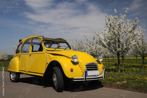 Papiers peints Vintage voitures Citroën 2CV