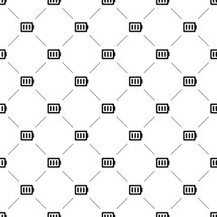 Vector seamless pattern, battery