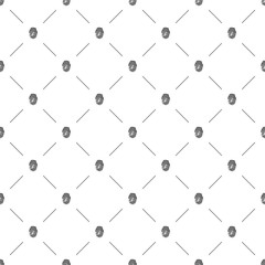 Vector seamless pattern, fingerprint