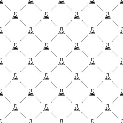 Vector seamless pattern, laboratory