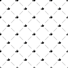 Vector seamless pattern, like