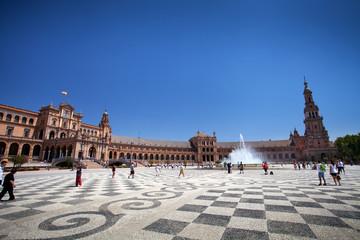 Plaza de España in Seville (Spanish Square)