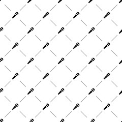 Vector seamless pattern, microphone