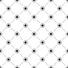 Vector seamless pattern, sun