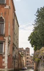 Venedig, Altstadt, historische Häuser, Kanal, Insel, Italien