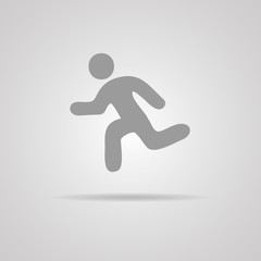 Vector Running Illustration
