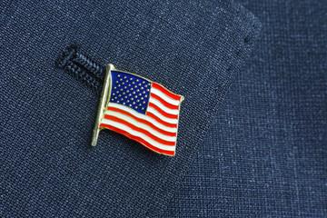 アメリカ国旗 ピンバッジ