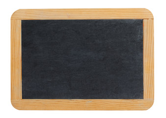 Small blank blackboard or school slate