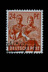 Briefmarke 24 Pf_Alt