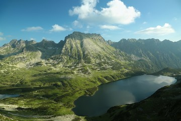 Valley of five ponds in the Tatra Mountains, Poland
