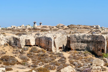 Tombs of the Kings. Pafos.