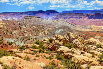 Painted Desert Canyon Arches National Park Moab Utah