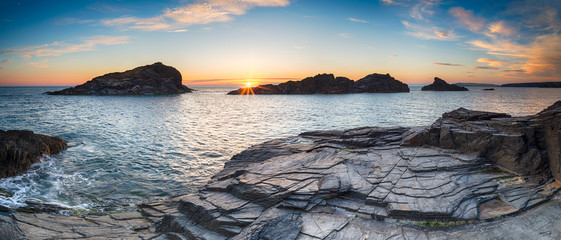 Cornwall Coast Panorama