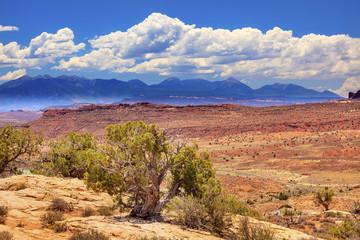 Painted Desert Arches National Park Moab Utah
