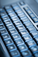 Computer keyboard background.